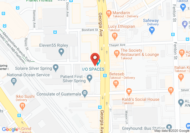 Google map image of 8222 Georgia Avenue 2nd FL, Silver Spring, MD 20910